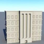 Apartment Block Building
