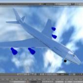 Boeing 747 Airplane