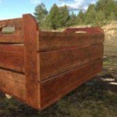 Box Crate Wood