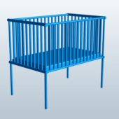 Wooden Cage Bed