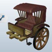 Old Vintage Cape Cart