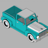 Game Car Lowpoly