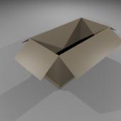 Old Cardboard Box