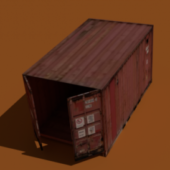 Old Cargo Crate