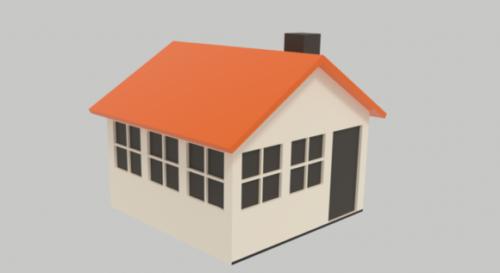 Cartoon Simple House