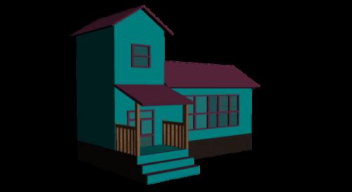Urban Cartoon House