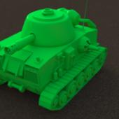 Cartoon-ish Tank
