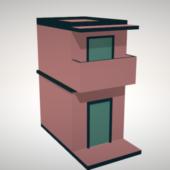 Cartoon Small Casa