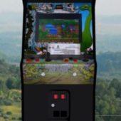 Caveman Upright Arcade Machine