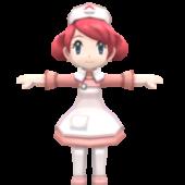 Center Nurse Pokemon Character
