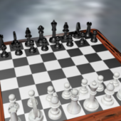 Western Simple Chess Set