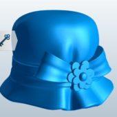 Ladies Fashion Cloche Hat