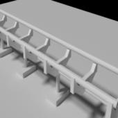 Lowpoly Coaster Rail