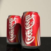 Two Coke Can