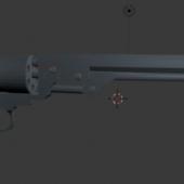 Colt 1860 Revolver Gun
