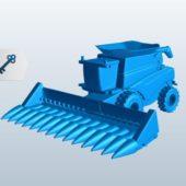 Combine Harvester Machine
