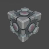 Storage Companion Cube
