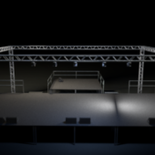 Concert Venue Stage Building