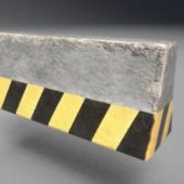 Road Concrete Barrier