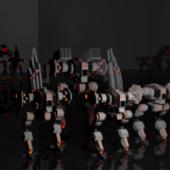 Crawlers Robot Machine