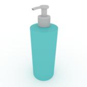 Cosmetic Cream Bottle