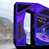 Discs Of Tron – Sitdown Arcade Machine
