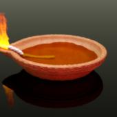 Diya Diwali Oil Lamp