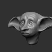 Dobby Head Character