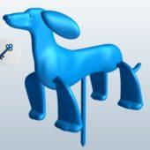 Dog Legs Spinning Sculpt
