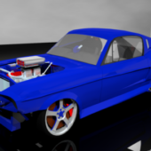 Drag Racing Shelby Gt500 Car