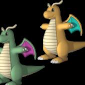 Dragonite Pokemon Character