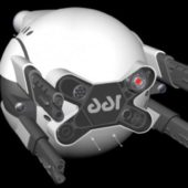 Drone Robot Scifi