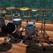 Music Band Drums Set