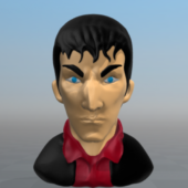 Character Dylan Dog Bust