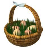 Christmas Easter Basket