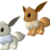 Eevee Pokemon Charater