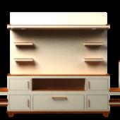 Elegant Wood Tv Table
