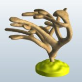 Elkhorn Coral Statue