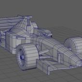 Formula 1 Lowpoly Car