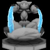 Fountain Pokemon Statue