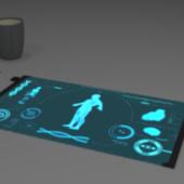 Futuristic Lcd Tablet