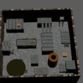 Game Environment Scene