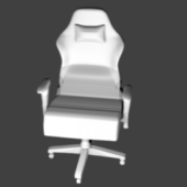 Gamer Chair High Poly Furniture