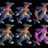 Garchomp Pokemon Character
