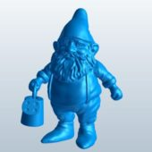 Garden Gnome Water Can Character