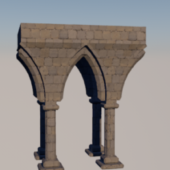 Ghotic Pillar Architecture