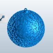 Golden Ball Ornament