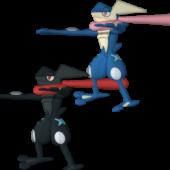 Greninja Pokemon Character