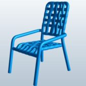 Grid Strap Dining Chair