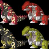 Groudon Pokemon Character